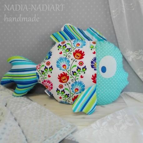 Poduszka Duża Ryba 5