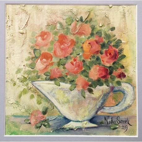 Bukiecik róż
