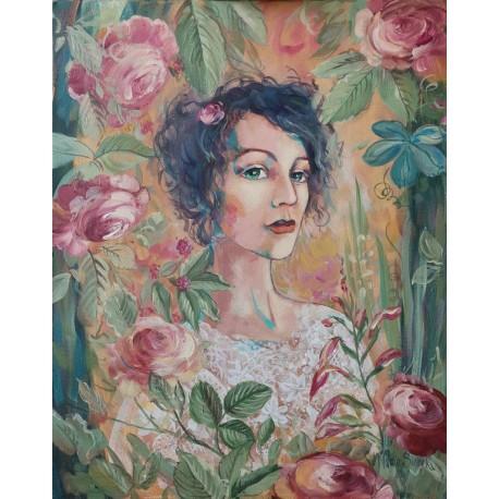 Autoportret w kwiatach